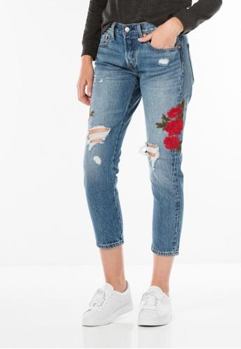 2b459db6 Buy Levi's Levi's 501® Cropped Taper Jeans Online on ZALORA Singapore