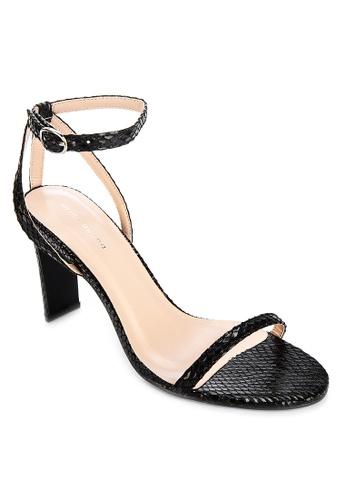 Primadonna black Strappy Heels 5D268SH129C87AGS_1
