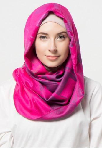 SHALIMAR pink Shalimar Pashmina Yatch Design SH713AA00CLNID_1