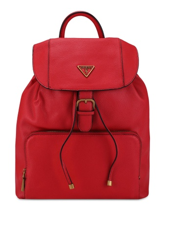 GUESS red Destiny Backpack 127EDAC8500C15GS_1