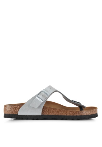 Birkenstock silver Gizeh Graceful Sandals BC4ADSH3FEFDD2GS_1
