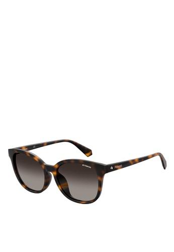 Polaroid brown Polaroid 4089/F/S Sunglasses 47FE9GLE58F725GS_1