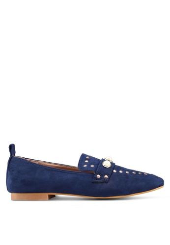 Carlton London 海軍藍色 懶人鞋 樂福鞋 F546CSH6ABDDB8GS_1