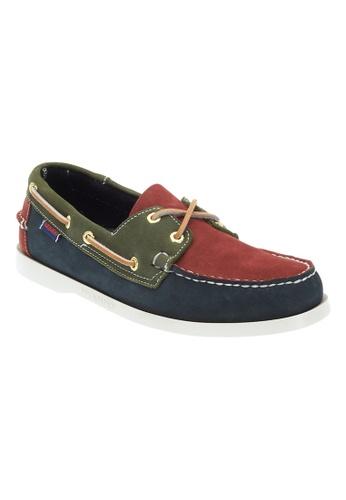 Sebago navy Mens Spinnaker Boat Shoes SE328SH66JUNPH_1
