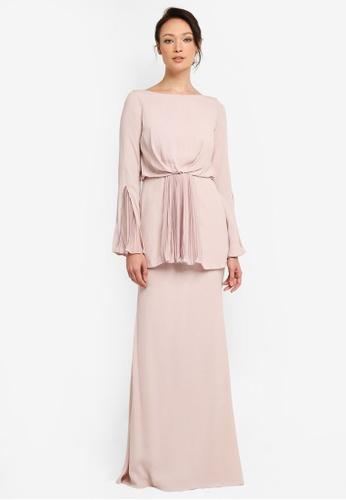 NH by NURITA HARITH pink Kelly Kurung Modern F1411AACC2E00EGS_1
