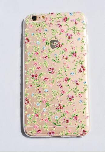 Shop Fancy Cellphone Cases Small Flower Vines Soft Transparent Case