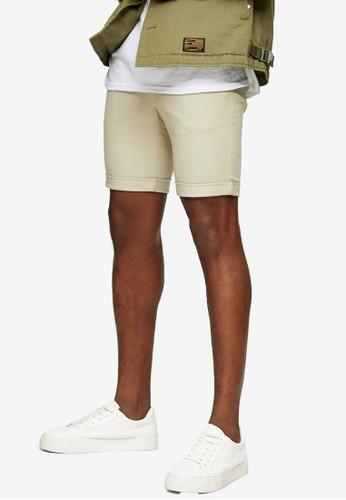 Topman multi Skinny Chino Shorts C9F01AA577468AGS_1