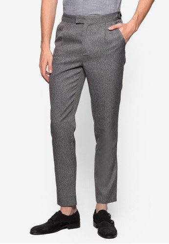 簡約西裝長褲、 服飾、 長褲ZALORA簡約西裝長褲最新折價