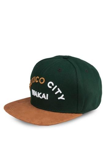 墨西哥刺繡鴨舌京站 esprit帽, 飾品配件, 鴨舌帽
