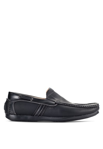 Louis Cuppers black Casual Loafers LO977SH02VORMY_1