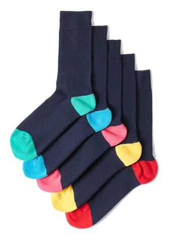 MARKS & SPENCER navy 5 Pack Cool & Fresh Cushioned Socks 0078DAA3C2137BGS_1
