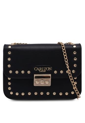 Carlton London black Rabea Sling Bag 981A9ACAE9C36EGS_1
