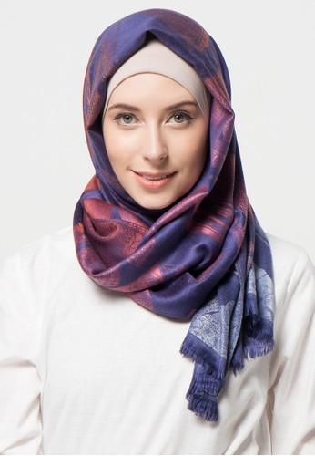 SHALIMAR blue Shalimar Pashmina Yatch Design SH713AA01CLMID_1
