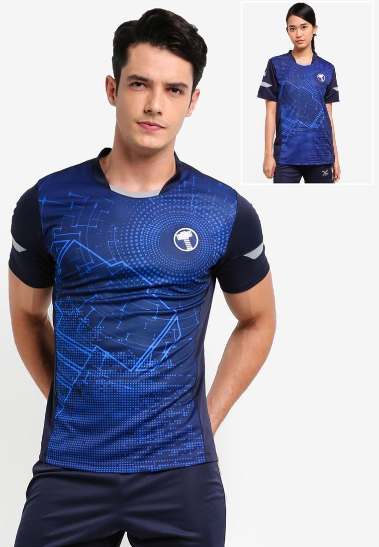 MARVEL FBT Grey Tee Navy Thor Jersey Blue nPgwO8nx