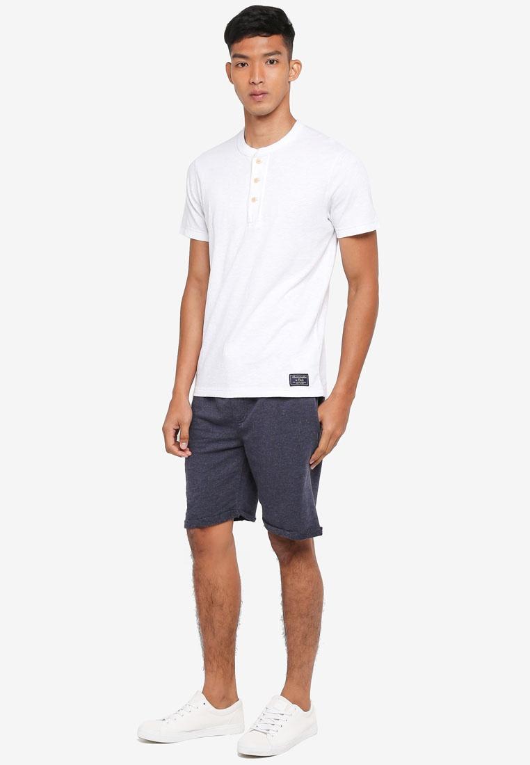 Navy Jeans Aldrich Jerset Drawstring Shorts Indicode xwg4XR