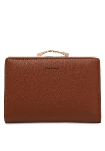 Wild Channel brown Women's Bi Fold Wallet 68B34AC7EB27FCGS_1
