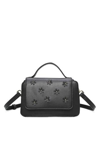 Milliot & Co. 黑色 Theresa上衣 Handles Bag A7F74AC3B1674FGS_1