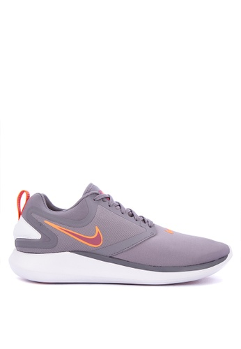 Nike black and grey and red Men's Nike LunarSolo Running Shoes  721D0SH5509C17GS_1