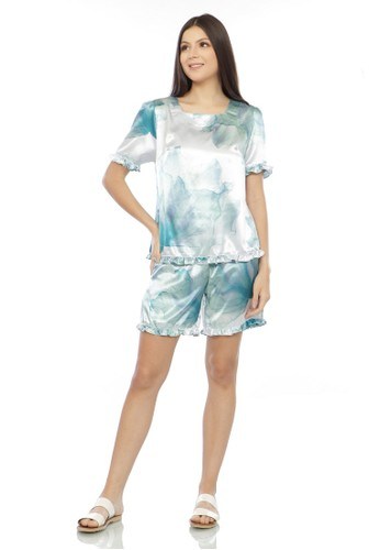 EPC Eddy P Chandra blue EPC Alluring Sleepwear Jasmine ( Free Mask ) 1B4A8AA607F493GS_1