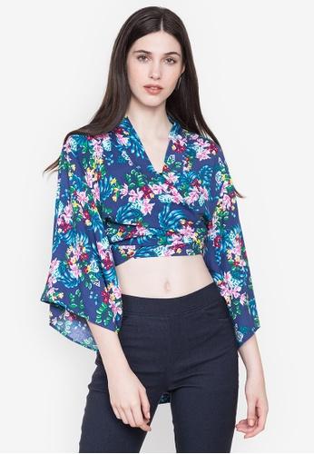 Juanita The Label blue Kimono Tie Top CCDC5AA6F0E191GS_1