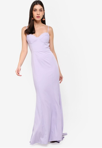 JARLO LONDON purple Olive Dress DC974AA23F351EGS_1