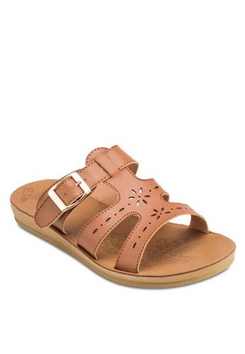 Triszalora 心得trap 雕花鏤空涼鞋, 女鞋, 鞋