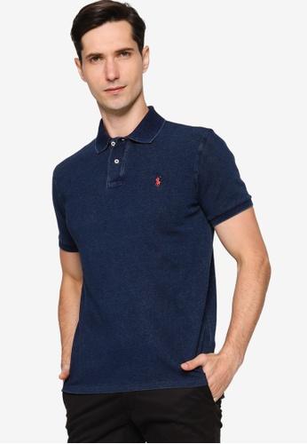 Polo Ralph Lauren navy Sskccmslm1-Short Sleeve-Knit- Basic Mesh 11A50AA3D246D6GS_1