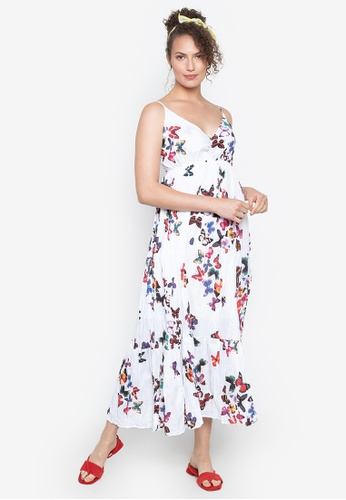 online for sale really comfortable factory authentic Shop Chictees Sophia Butterfly Maxi Dress Online on ZALORA Philippines