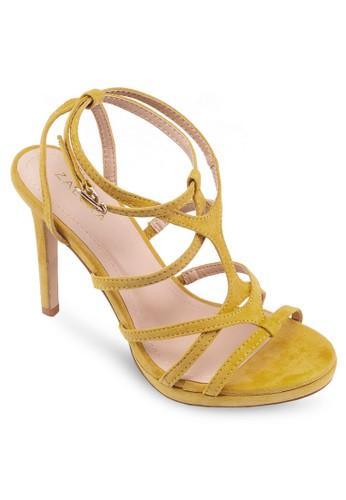 厚底多zalora 評價帶高跟鞋, 女鞋, 細帶高跟鞋