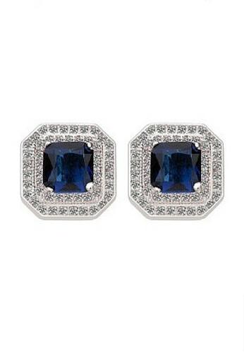 Vivere Rosse blue Allure Stud Earrings VI014AC01JOGMY_1