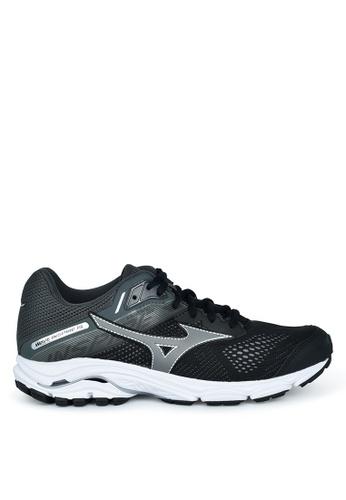 Mizuno black Wave Inspire 15 Running Shoes 9DD6BSHF14ECABGS_1