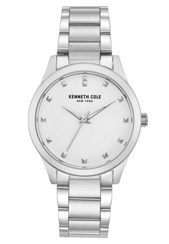 Kenneth Cole silver Kenneth Cole 34mm - Silver-Tone Case & Bracelet (KC50016003) DA9C2AC9F9A177GS_1