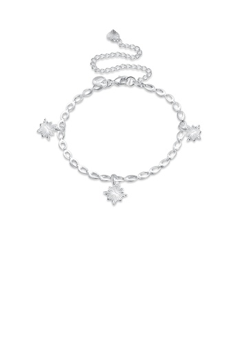 Glamorousky silver Fashion Simple Constellation Anklet 0C67EAC1F13FEFGS_1