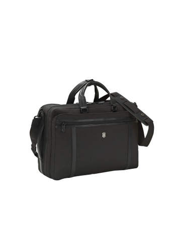 Victorinox black Victorinox Werks Pro 2-way Carry Laptop Bag  851D6AC650A02CGS 1 1a7acc7494af