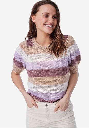 Vero Moda white Short Sleeve Pullover 8E9E0AA79EDADCGS_1