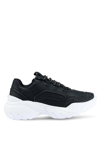 MANGO 黑色 休閒運動鞋 81270SH261DE86GS_1