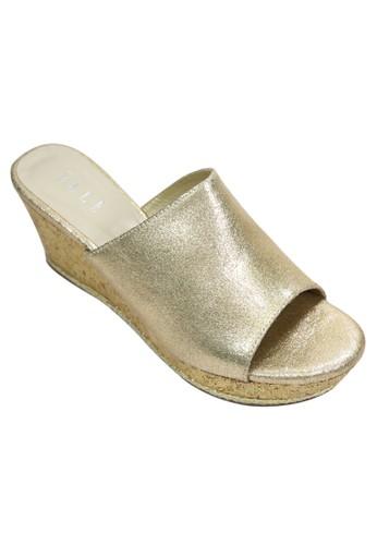 Elle Shoes gold El 30048 EL820SH53LFUID_1
