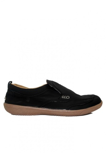D-Island black D-Island Shoes Slip On Reborn Special Leather Black DI594SH70BSRID_1