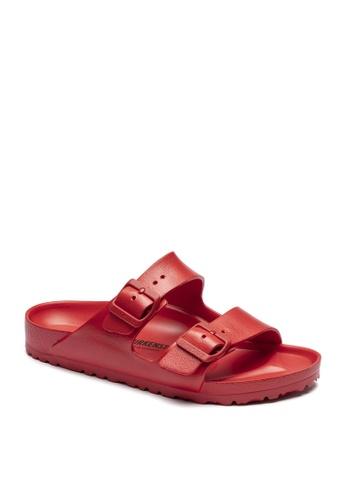 Birkenstock red Arizona EVA Sandals 8BFC3SH3EC7D08GS_1