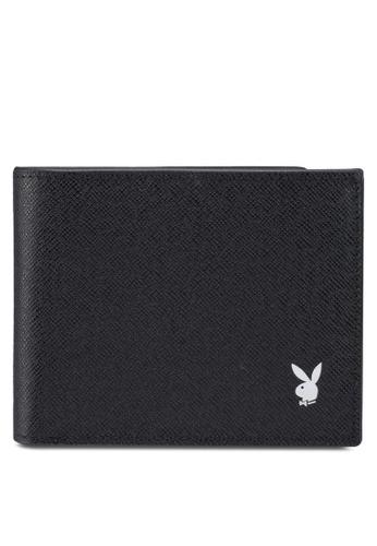 Playboy black Playboy Rfid Blocking Wallet 14277ACB7F21A7GS_1