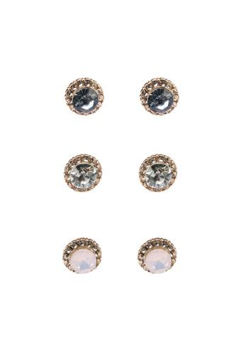 ALDO blue Gwosa Pierced Earrings Pack 4A2FDAC67F9DAAGS_1