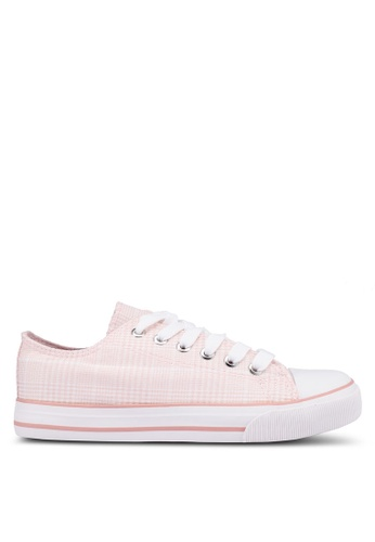 Rubi pink Jodi Low Rise Sneakers 28225SHE255B41GS_1