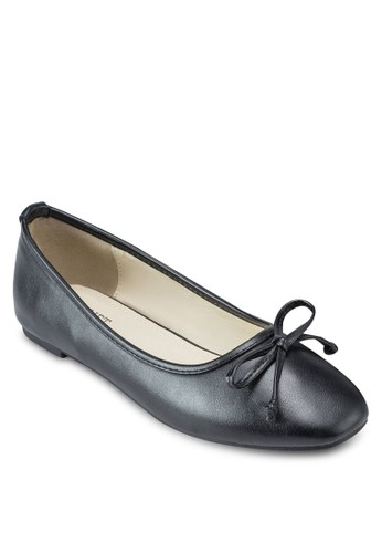 Celest 基本款方頭 平底鞋, 女鞋, esprit 會員鞋