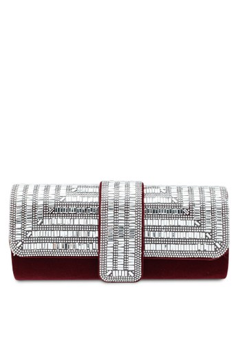 Papillon Clutch red Diamond Envelope Clutch F1E88AC0815F4CGS_1