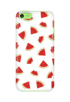 Watermelon Slice Glossy Hard Case for iPhone 5c