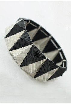Pyramid Bracelet [Black]