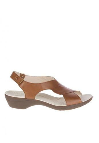 Hush Puppies brown Dharma Backstrap Women's Sandals 18326SH68E300FGS_1