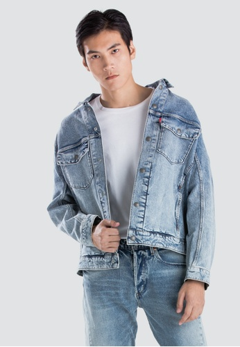 2d4b1099bd30 Levi s blue Levi s Engineered Jeans Trucker Jacket Men 67778-0000  5580FAAAC974ACGS 1