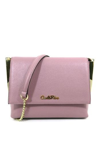 c0a88bf51e74 Carlo Rino purple Carlo Rino 0304338B-001-24 Leather bag (Lilac)  5ED83AC9B96A61GS 1