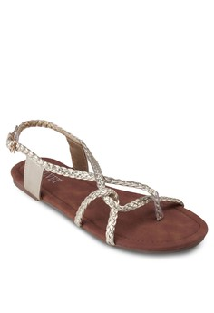 Beverley Braided Strap Sandals